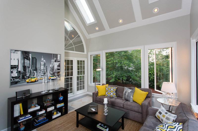 sunroom and addition