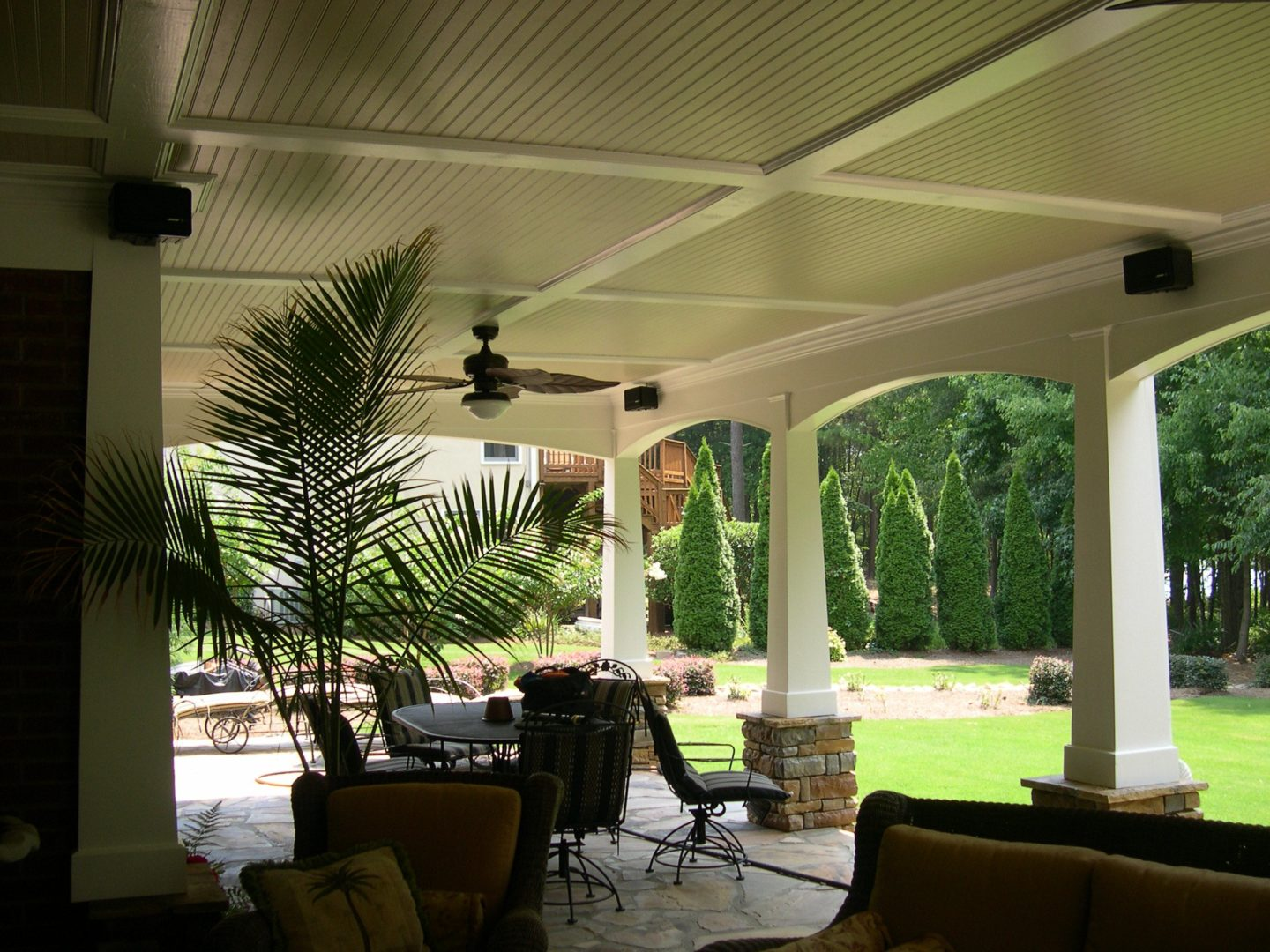 lower level patio
