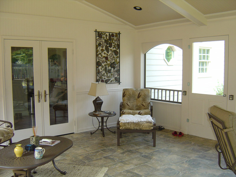 interior porch