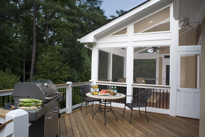 deck by sunroom