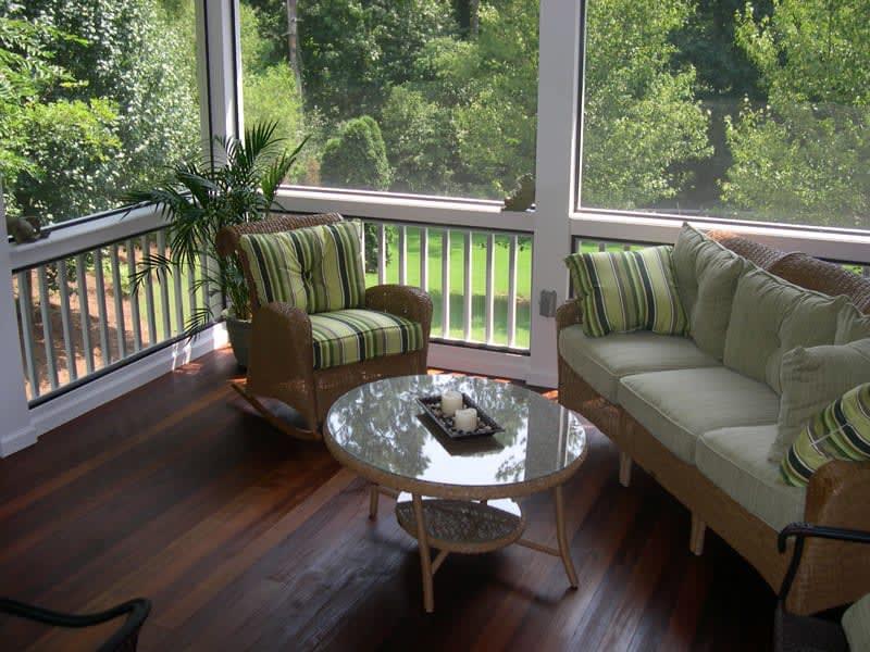 Kennedy Porch by Deck & More in Atlanta, GA