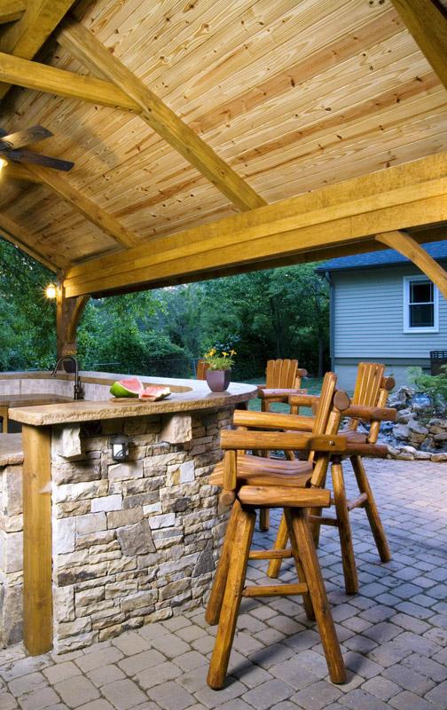 Outdoor Kitchens by Decks & More in Atlanta, GA